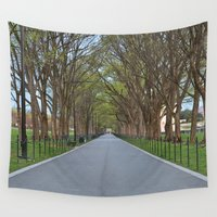 the national Wall Tapestries featuring National Mall Promenade by Nicolas Raymond