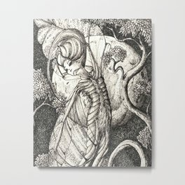 Night fairy Metal Print