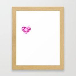 I Heart Basenjis | Love Basenjis - Dog Breed Framed Art Print