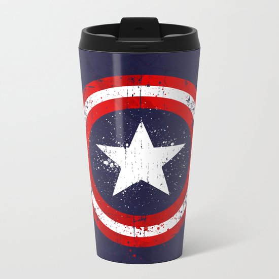 Captain's America splash Metal Travel Mug