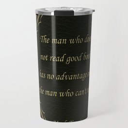 Book Quote 9 Travel Mug