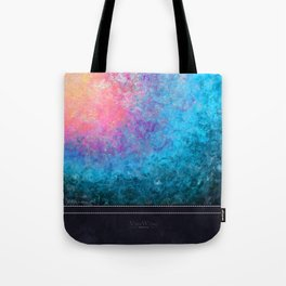 Blooming Tide - Original Abstract Art by Vinn Wong Tote Bag