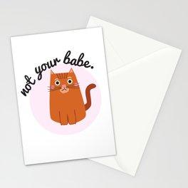 Feminist Cat Stationery Cards