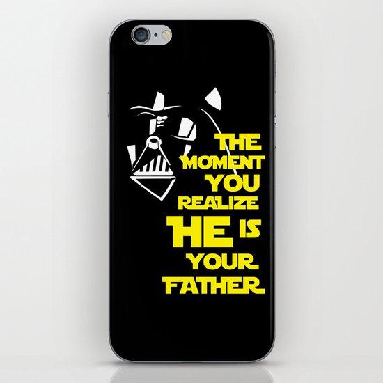 Vader Spoiler iPhone & iPod Skin