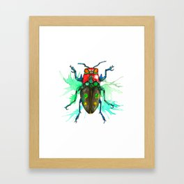 Beetle One Framed Art Print