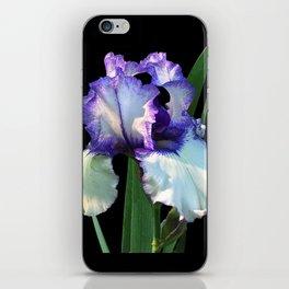 Iris 'Freedom Song' on black iPhone Skin