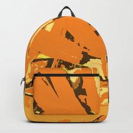 Orange Bromeliad Backpack