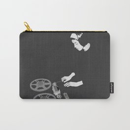 Delia with reel to reel audio tape recording Carry-All Pouch