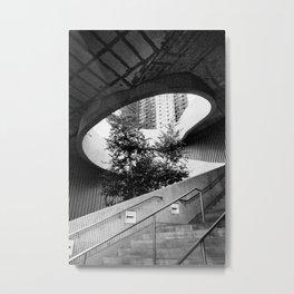 Chicago Stairway Metal Print