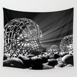 WHURLY DURLY Wall Tapestry
