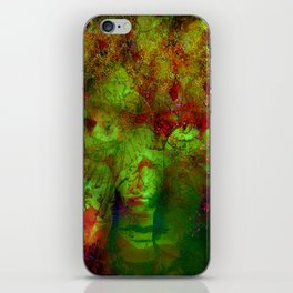 The clairvoyant of Harlem iPhone Skin