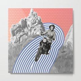Moto Margret Metal Print