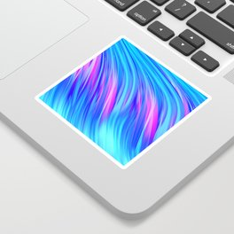 Waterfall,  abstract Sticker
