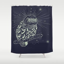illusionish Shower Curtain