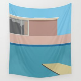 A Bigger splash Wall Tapestry