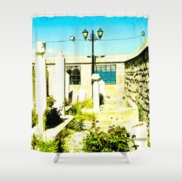 A very sacred place. Shower Curtain