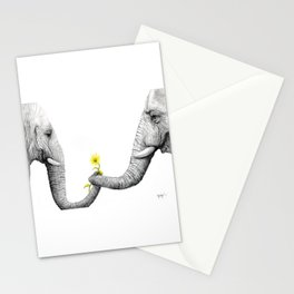 """Up Close You Are More Wrinkly Than I Remembered"" Stationery Cards"