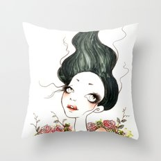 In Roses Throw Pillow