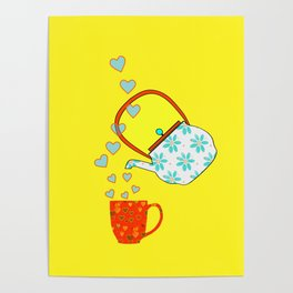 A Nice Cup Of Tea - Beverage Poster