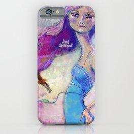 Perfect Little by Jane Davenport iPhone Case
