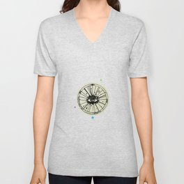 Iris Unisex V-Neck