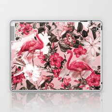 Floral and Flemingo III Pattern Laptop & iPad Skin