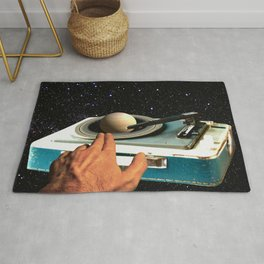 The DJ's Guide to the Galaxy Rug