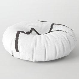 Peaks Floor Pillow