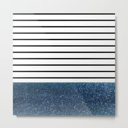 MaRINiera with night blue Metal Print