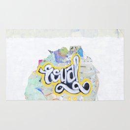 Street Painting and Graffiti Rug