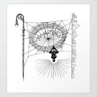 Peter's Web Art Print