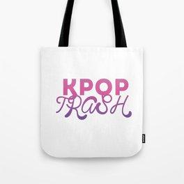 kpop trash Tote Bag
