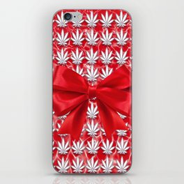 Merry Cannabis! iPhone Skin