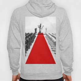 Wedding Chess / 3D render of checkmating ceremony Hoody