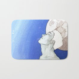 """""""Time and Death and God"""" [Series Part 3] Bath Mat"""