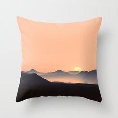 sundown feels Throw Pillow