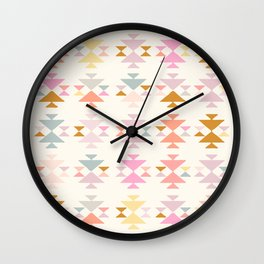 Painted in Pastel Wall Clock