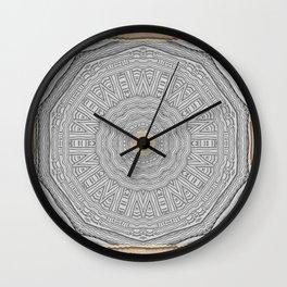 Wooden Popart Wall Clock