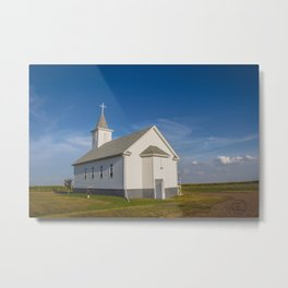 St Paul Lutheran Church 6 Metal Print
