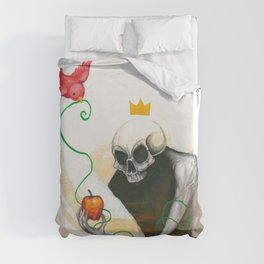 maybe this apple Duvet Cover