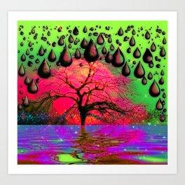 """Psychedelic"" Art Print"