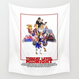 The Office - Threat Level Midnight Wall Tapestry
