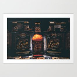Founders Brewery Art Print