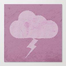 Vexed Cloud Canvas Print