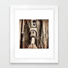Narrow Framed Art Print