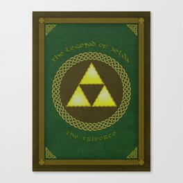 Celtic Triforce Canvas Print