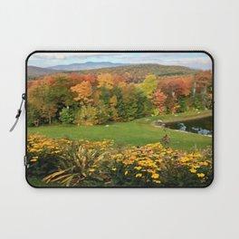Vermont Foliage Watercolor Laptop Sleeve