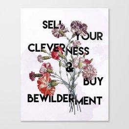 Flower Wisdom Canvas Print