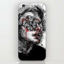 Deep wounds iPhone Skin