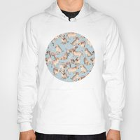puppies Hoodies featuring Too Many Puppies by micklyn